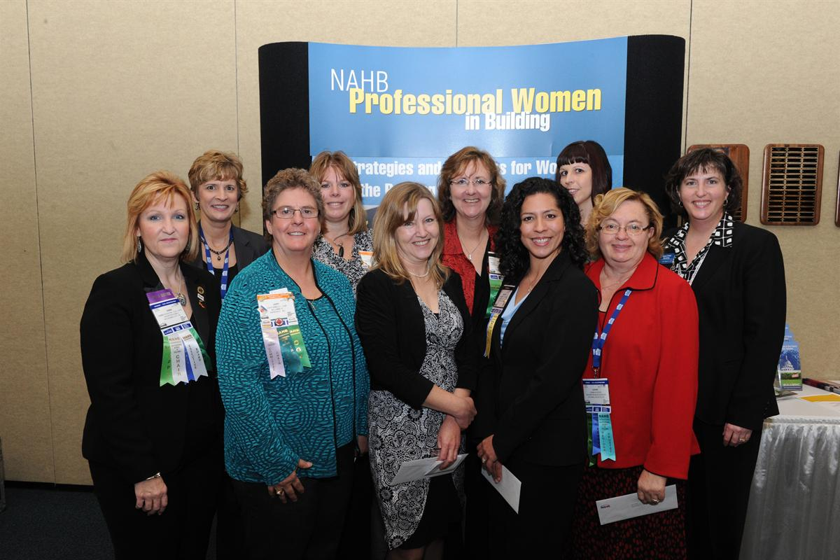 Professional Women in Building 2012
