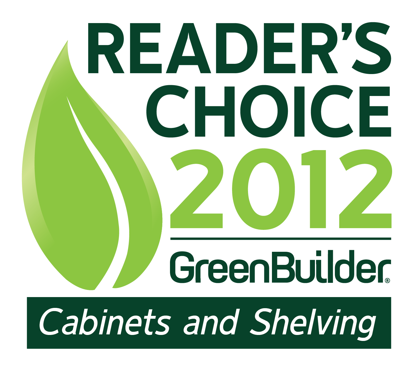 Green Builder® 2011 Readers' Choice Brand Study Names KraftMaid® and Merillat® the Greenest Cabinetry Companies Based on Reader Survey Results